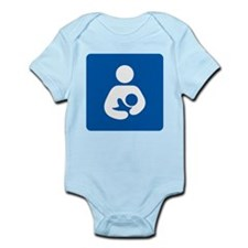 Breastfeeding Symbol Body Suit