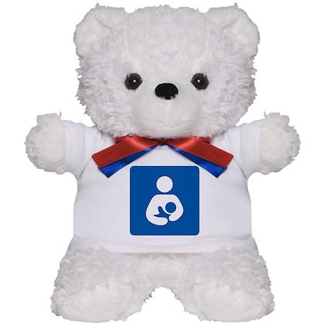 Breastfeeding Symbol Teddy Bear