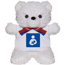 Breastfeeding Symbol Teddy Bear