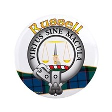 "Russell Clan 3.5"" Button"