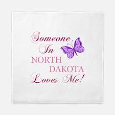 North Dakota State (Butterfly) Queen Duvet