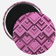 shaped memory of the 60s pink Magnets