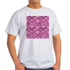 shaped memory of the 60s pink T-Shirt