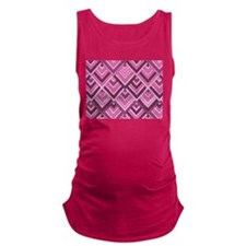 shaped memory of the 60s pink Maternity Tank Top