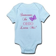 Ohio State (Butterfly) Infant Bodysuit