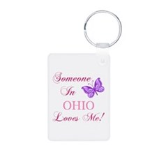 Ohio State (Butterfly) Keychains