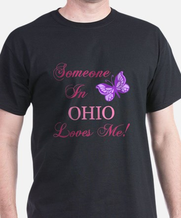 Ohio State (Butterfly) T-Shirt