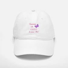 Ohio State (Butterfly) Baseball Baseball Cap