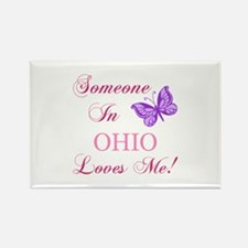 Ohio State (Butterfly) Rectangle Magnet