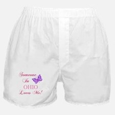 Ohio State (Butterfly) Boxer Shorts
