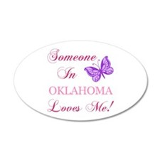 Oklahoma State (Butterfly) Wall Decal