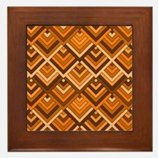 shaped memory of the 60s terra Framed Tile