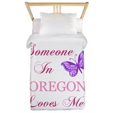Oregon State (Butterfly) Twin Duvet