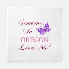 Oregon State (Butterfly) Queen Duvet