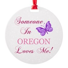Oregon State (Butterfly) Ornament