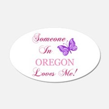 Oregon State (Butterfly) Wall Decal