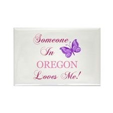 Oregon State (Butterfly) Rectangle Magnet (10 pack