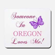Oregon State (Butterfly) Mousepad