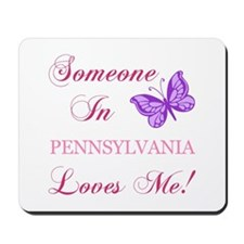 Pennsylvania State (Butterfly) Mousepad