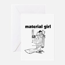 Material Girl - Sewing Greeting Cards (Package of