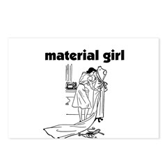 Material Girl - Sewing Postcards (Package of 8)