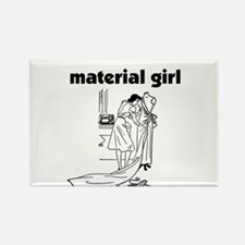 Material Girl - Sewing Rectangle Magnet