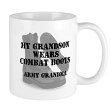 Army Grandma Grandson wears CB Mugs