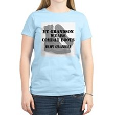Army Grandma Grandson wears CB T-Shirt