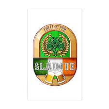 Collins' Irish Pub Decal