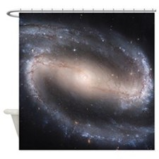 Barred Spiral Galaxy (NGC 1300) Shower Curtain