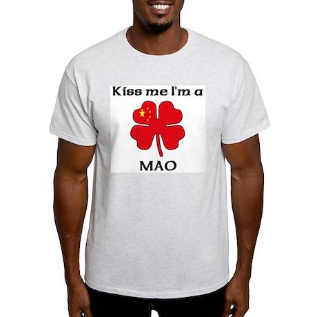 Mao Family Ash Grey T-Shirt
