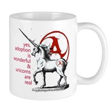 The Adoption Unicorn Mugs