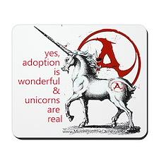 The Adoption Unicorn Mousepad