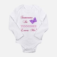 Tenessee State (Butterfly) Long Sleeve Infant Body