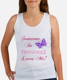 Tenessee State (Butterfly) Women's Tank Top