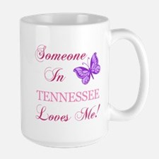 Tenessee State (Butterfly) Large Mug