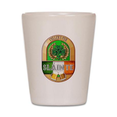 Cullen's Irish Pub Shot Glass