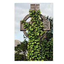 Ivy covered Cross Postcards (Package of 8)