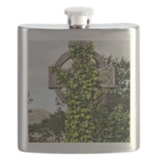 Ivy covered Cross Flask