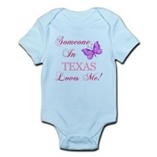 Texas State (Butterfly) Infant Bodysuit