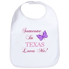 Texas State (Butterfly) Bib