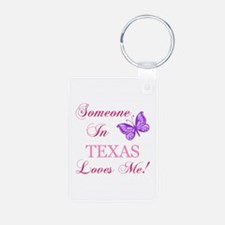 Texas State (Butterfly) Keychains