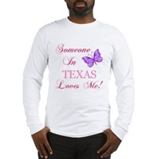 Texas State (Butterfly) Long Sleeve T-Shirt