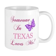 Texas State (Butterfly) Mug