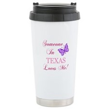 Texas State (Butterfly) Travel Mug