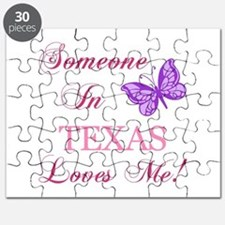 Texas State (Butterfly) Puzzle