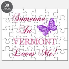 Vermont State (Butterfly) Puzzle