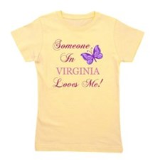 Virginia State (Butterfly) Girl's Tee
