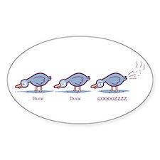 Duck Duck Gooz Decal