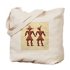 """""""TWO HEARTS, ONE PATH"""" Tote Bag"""